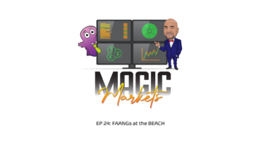 Magic Markets logo and Ep 24 description