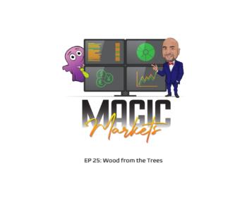 Magic Markets logo with episode description