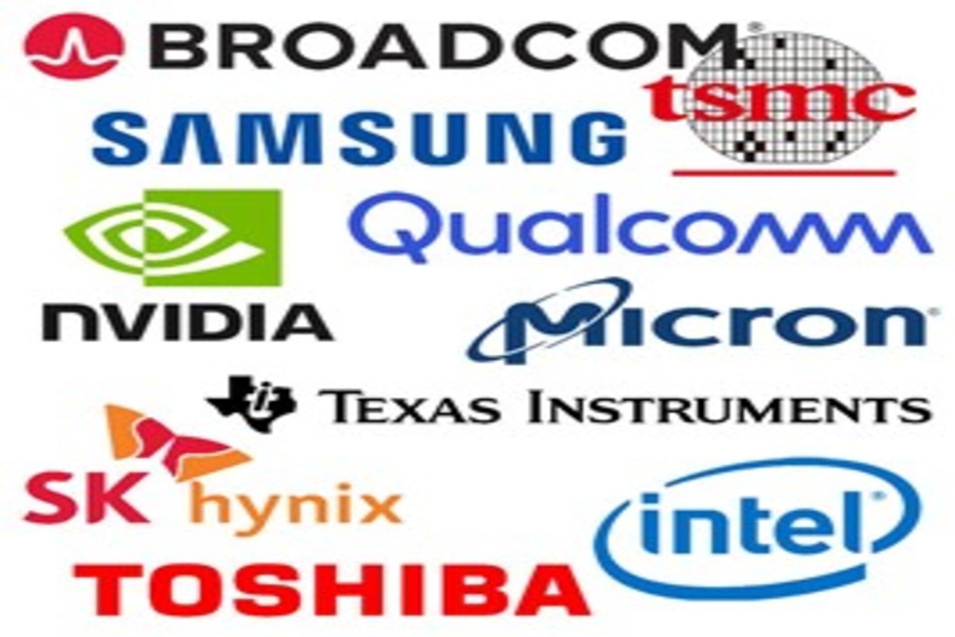 Major semiconductor companies