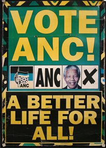 Old ANC 1994 poster